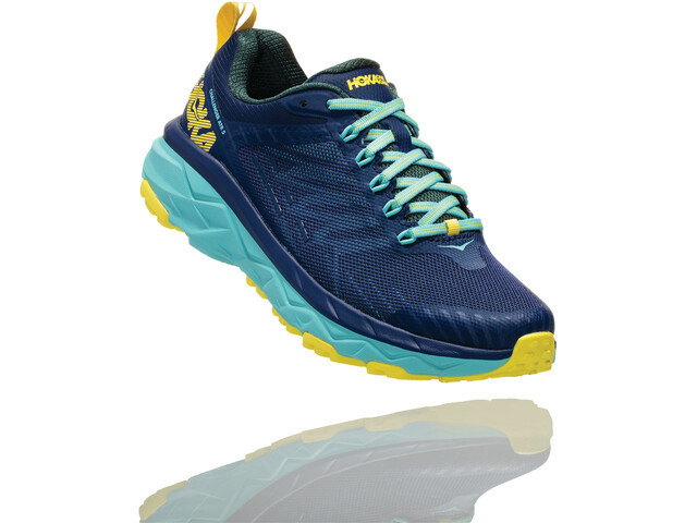 Hoka One One Challenger ATR 5 Running Shoes Women medieval blue/mallard green